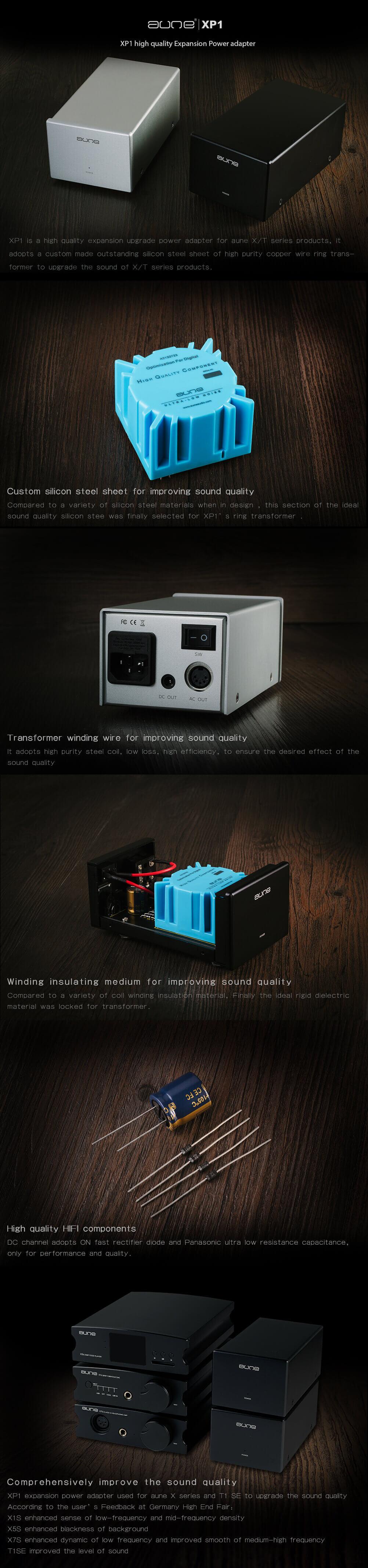Aune XP1 Alimentatore Lineare Hi-Fi