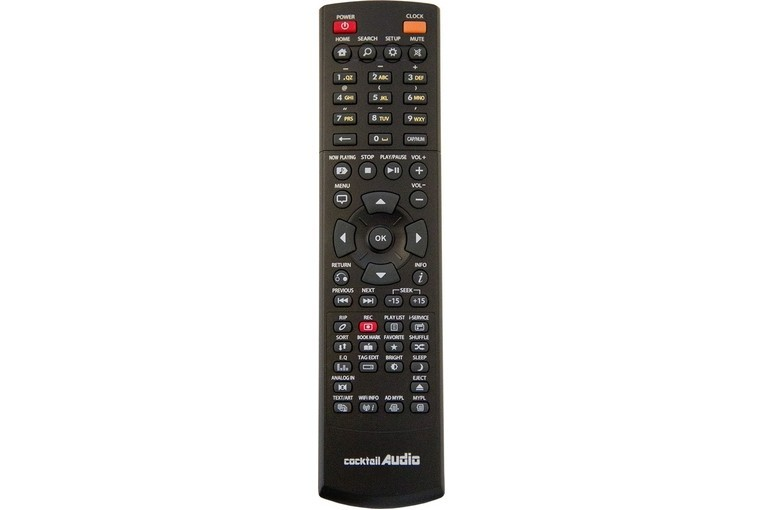 Cocktail AUDIO Remote Controller X14