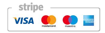 Carta di Credito Visa/Mastercard/Maestro/Amex